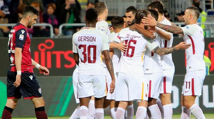 Cagliari-Roma 0-1: Ünder e Alisson show, la Champions League è vicina