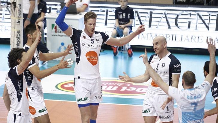 Volley: A2 Maschile, Finale Play Off: martedì sera Siena potrebbe festeggiare