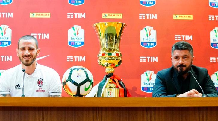 Milan, Bonucci: «Venderemo cara la pelle». Gattuso: «Come una finale di Coppa del Mondo»
