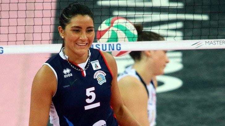 Volley: A1 Femminile, Novara ingaggia Yamila Nizetich