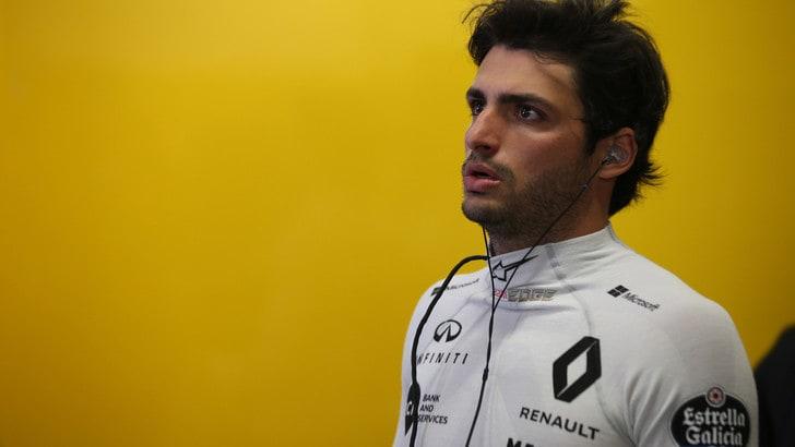 F1 Renault, Sainz: «Ho voglia di dare il meglio di me»