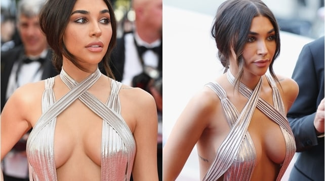 Cannes già diventa hot: Chantel Jeffries scandalosa sul red carpet