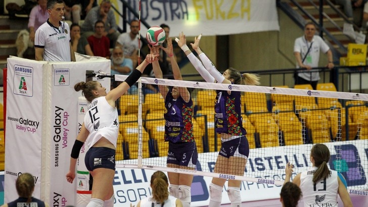 Volley: A2 Femminile, Finale Play Off: Chieri batte la Battistelli e va sull' 1-1