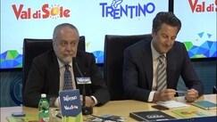 """De Laurentiis punge Sarri: """"In passato secondi con Mazzarri"""""""