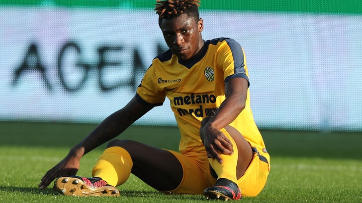 Serie A Verona, Kean, prosegue il programma di recupero