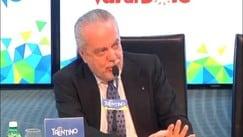 """De Laurentiis: """"Scudetto tolto al Napoli"""""""