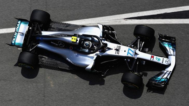 F1 Spagna, Libere 1: Bottas e Hamilton davanti, 3° Vettel