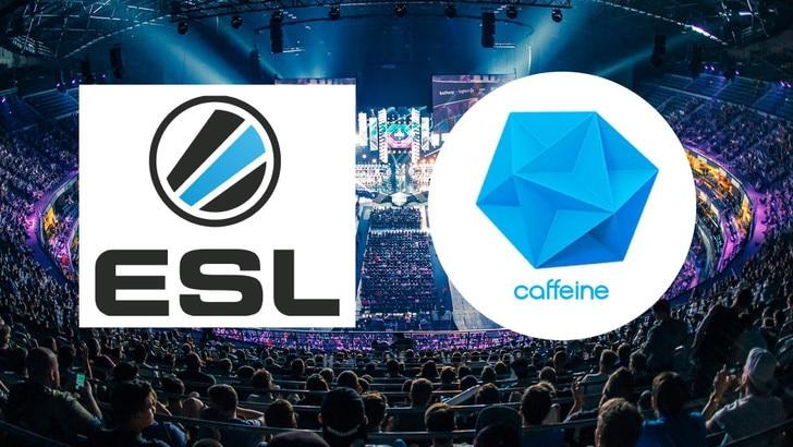 ESL e Caffeine insieme per l'eSport