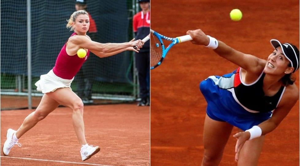 Sono già sbarcate a Roma o stanno per arrivare: da Maria Sharapova a Garbine Muguruza e l'azzurra Camila Giorgi. Tutte pronte per scendere sui campi in rosso del Foro Italico