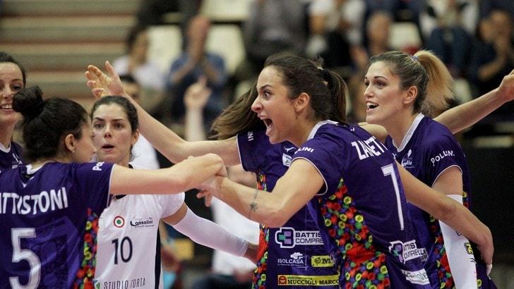 Volley: A2 Femminile, sfida decisiva per Battistelli e Fenera