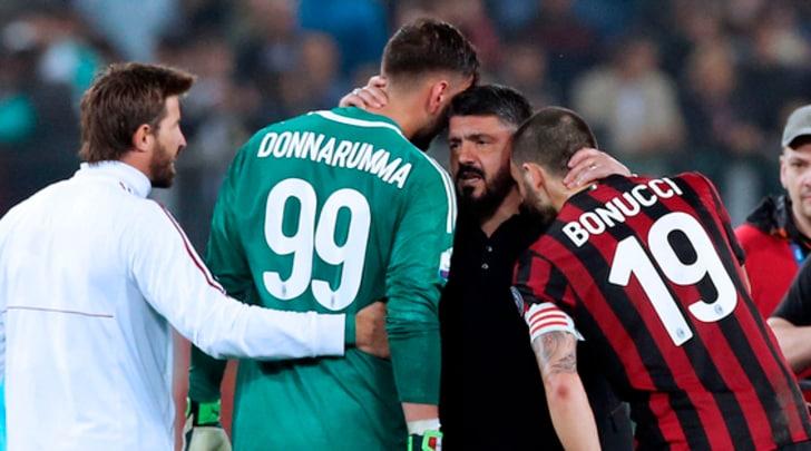 Milan, Gattuso: «Donnarumma non è tranquillo»
