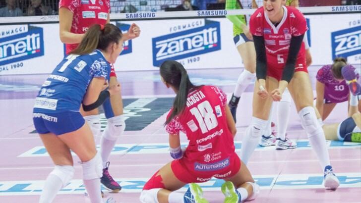 Volley: A1 Femminile, Bergamo rilancia le proprie ambizioni grazie a Zanetti