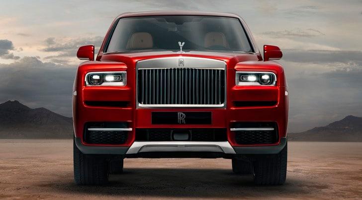 Rolls-Royce Cullinan, diamante a trazione integrale
