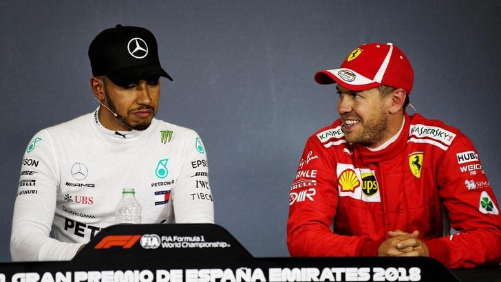 F1 Spagna, Vettel: «Mercedes è forte qui ma io non vedo l'ora»