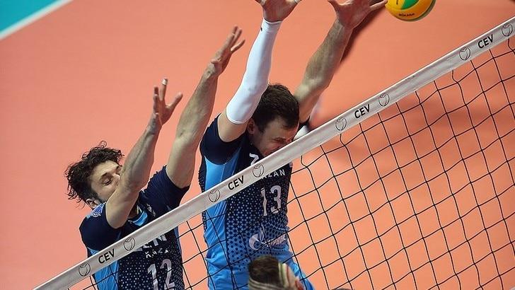 Volley: Champions League, Perugia lotta ma lo Zenit è troppo forte