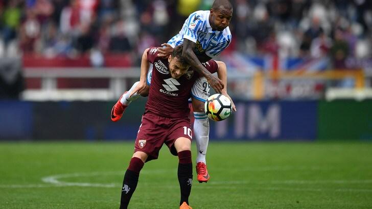 Serie A Torino-Spal 2-1, il tabellino