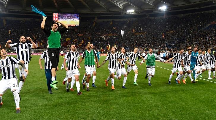 Roma-Juventus 0-0: la squadra di Allegri è Campione d'Italia