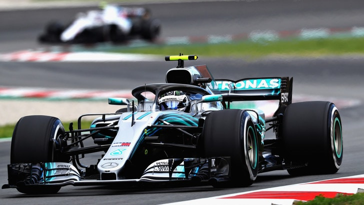 F1 test Barcellona, Day 2: Bottas in vetta, 2° Giovinazzi