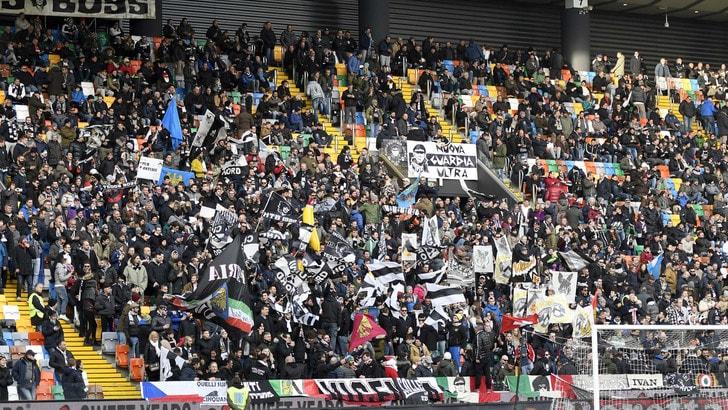 Serie A Udinese, per la gara col Bologna Dacia Arena sold out