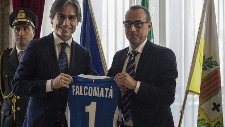 Volley: il Sindaco di Reggio Calabria ha ricevuto la nazionale