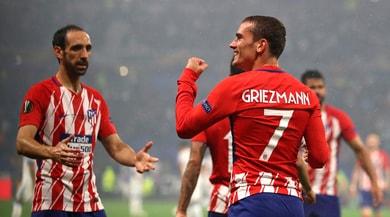 Europa League, Marsiglia-Atletico Madrid 0-3: doppio Griezmann e Gabi