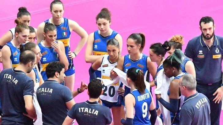Volley: l'Italia cade al tie break contro la Polonia