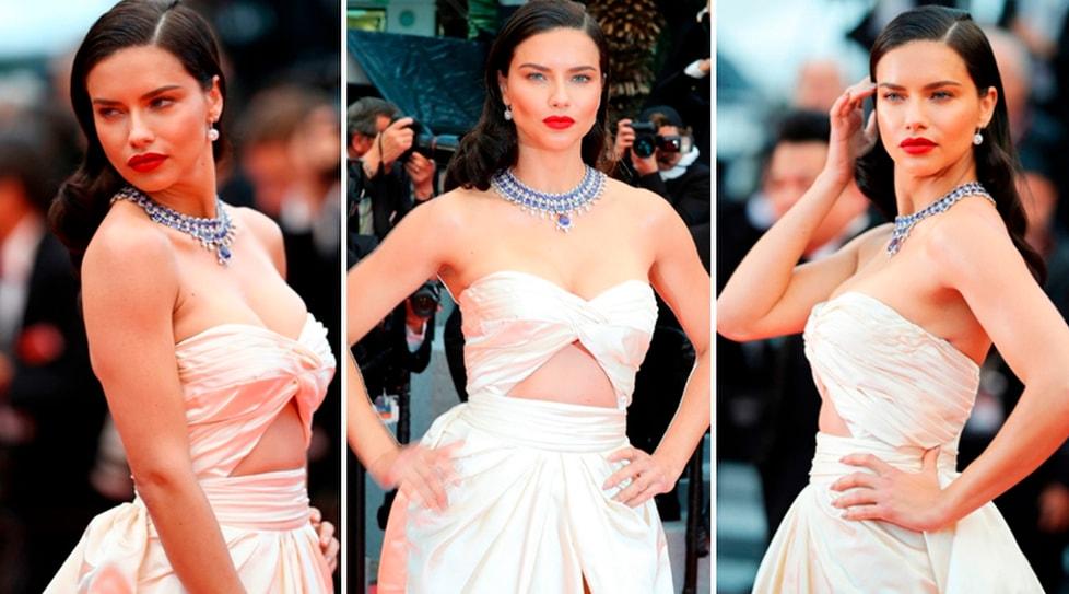 La modella brasiliana protagonosta al Festival del cinema francese