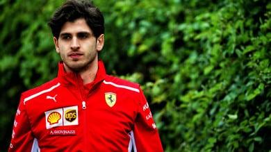 F1 Ferrari, Giovinazzi: «Sono stati raccolti moltissimi dati»