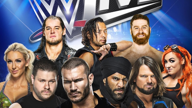 Lo spettacolo della WWE fa tappa a Torino