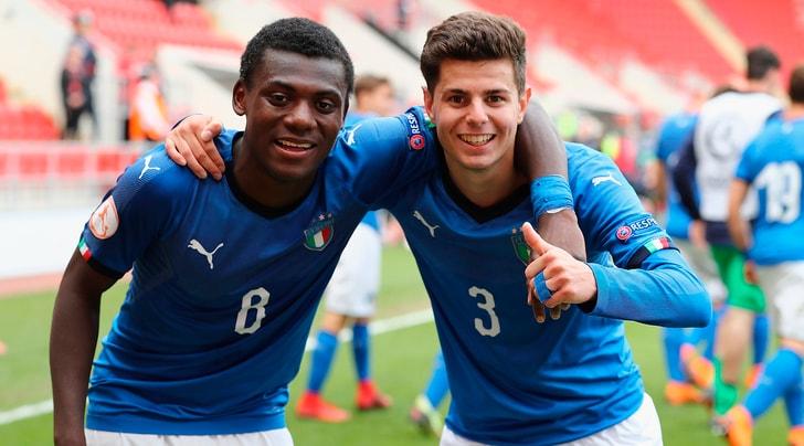 Europeo Under 17, l'Italia stende il Belgio e vola in finale