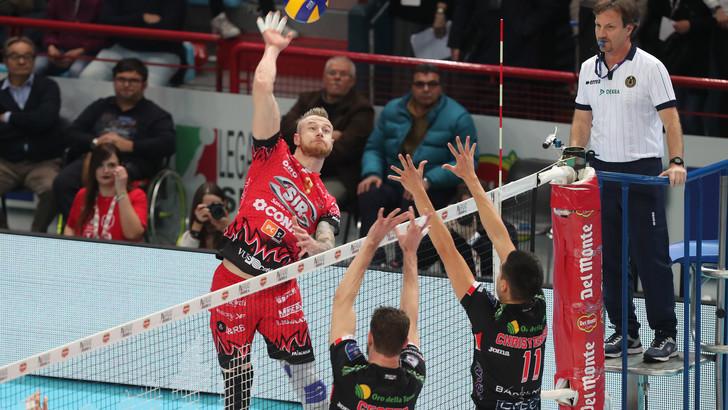 Volley, Perugia ci crede