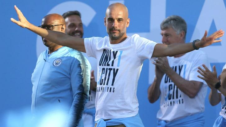 Manchester City, Guardiola rinnova fino al 2021
