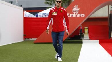 F1 Ferrari, Vettel: «Puntiamo a fare molto di più»