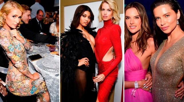 Modelle e trasparenze: ecco il party più sexy dell'anno