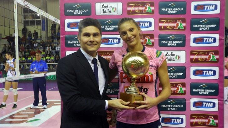 Volley: A1 Femminile, Zago lascia Casalmaggiore e torna a Scandicci