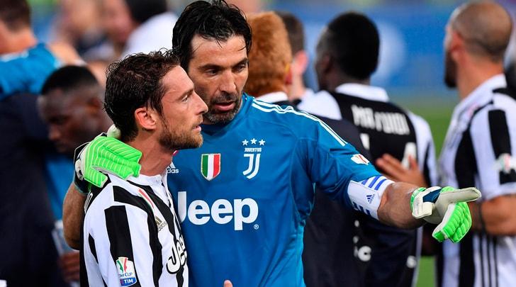 Juventus, Marchisio a Buffon: «Sarai fonte di ispirazione per intere generazioni»