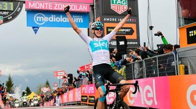 Giro d'Italia, Froome si prende lo Zoncolan e vince la 14ª tappa