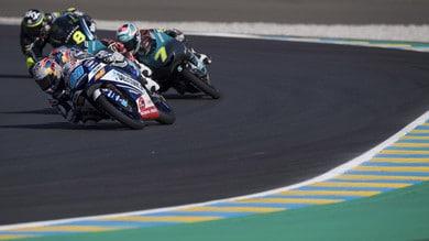 Moto3 Francia: Di Giannantonio primo ma penalizzato, vince Arenas