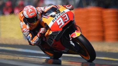 MotoGp Francia: ancora un trionfo di Marquez, Rossi 3°