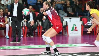 Volley: A1 Femminile, Novara preleva Michelle Bartsch da Busto
