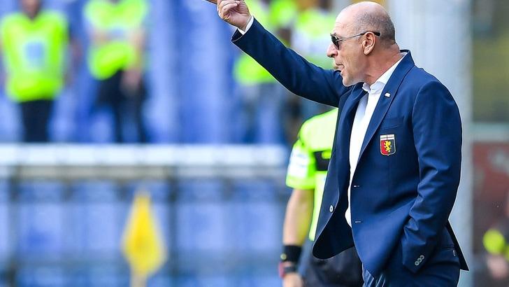 Serie A Genoa, Ballardini: «Con la salvezza ci sono stati cali di tensione»