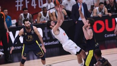 Eurolega, Melli non basta al Fenerbahce: Real campione d'Europa