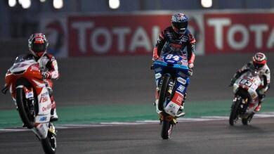 Moto3 Francia, Kornfeil salta e evita Bastianini