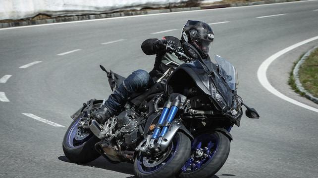 Yamaha Niken: sorpresa a tra ruote