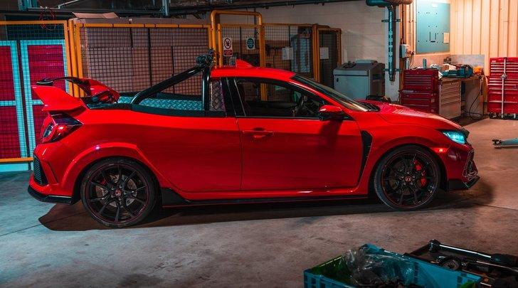 Honda Civic Type R Pick-up: consegne molto veloci