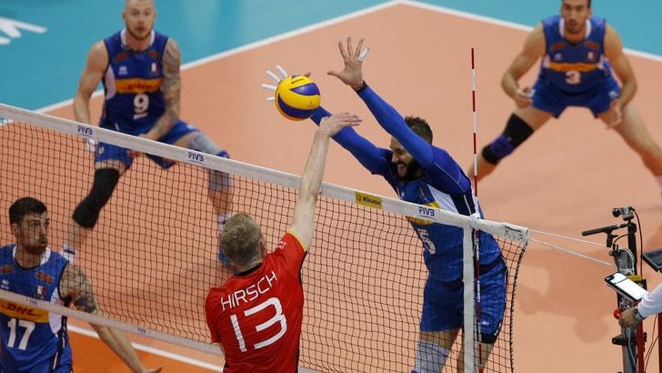 Volley: Volleyball Nations League, l'Italia parte alla grande contro la Germania