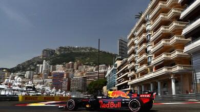 F1, griglia di partenza Gp Monaco: Ricciardo in pole, Vettel 2°
