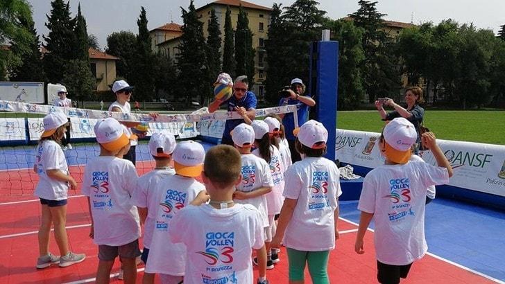 Volley: una vera festa di volley a Brescia per Gioca Volley S3 in Sicurezza
