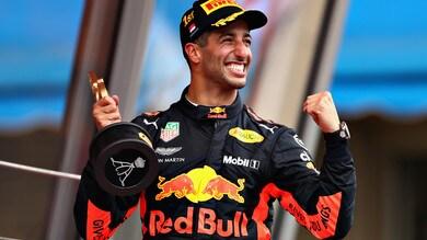 F1 Monaco, Ricciardo: «Aspettavo questa vittoria da due anni»
