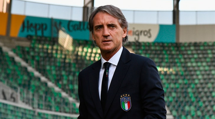 Italia, Mancini: «In porta ci sarà Donnarumma, Balotelli vediamo»
